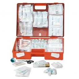 Erste-Hilfe-Koffer mit Inhalt Ö-NORM Z 1020 Typ I, BxTxH 260x110x170 mm, ABS-Kunststoff
