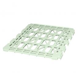 Kunststoffzwischenboden, grau, LxB 760x715 mm