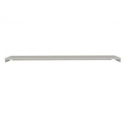 Ablageboden für Pack- und Beistelltisch, BxT 2000x350 mm, 19 mm stark, lichtgrau