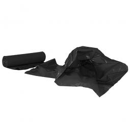 Müllsäcke 120 Liter, Stärke 40 µm, VE=250 Stück, BxH 700x1100 mm, Polyethylen-Kunststoff (PE), schwarz