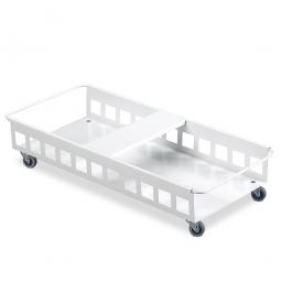 Doppel-Fahrwagen für Abfall- und Wertstoffbehälter, BxTxH 665 x 270 x 185 mm