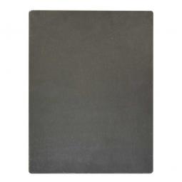 Beschriftungstafel aus Metall, LxB 300x200 mm, Mit schwarzem Schultafellack beschichtet