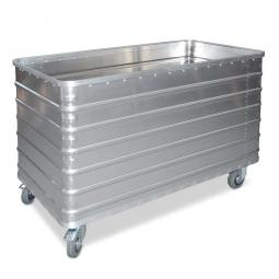 Transportwagen aus Leichtmetall, 656 Liter, LxBxH 1280x730x945 mm, Tragkraft 250 kg