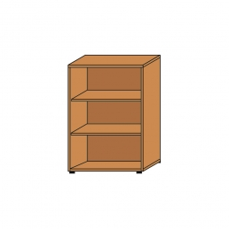 Büroregal, 3OH, Buche, HxBxT 1145x800x330 mm