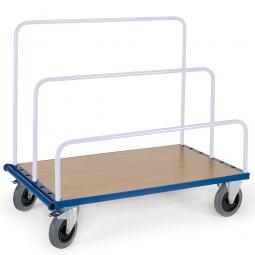 Plattenwagen ohne Aufsteckbügel, LxBxH 1740x800x310 mm, Tragkraft 1200 kg