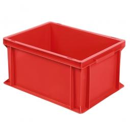 Euro-Geschirrkasten, LxBxH 400x300x220 mm, mit 2 Griffleisten, rot