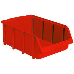 Sichtbox SOFTLINE SL 5, rot, Inhalt 24 Liter, LxBxH 495/425x310x185 mm, Gewicht 810 g