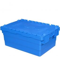 "ALC Klappdeckelbox ""Profi"", verplombbar, LxBxH 600x400x250 mm, 45 Liter"
