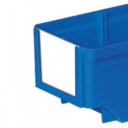 Etiketten für Regalkästen CLASSIC B 93 mm, weiß, VE=100 Stück