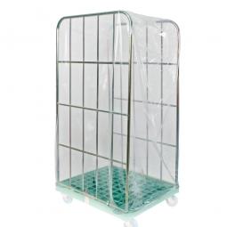 Einweghauben für Rollwagen, transparent, LxBxH 850x750x1800 mm, Paket = 20 Hauben