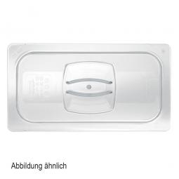 Auflagedeckel für Schale GN1/1, LxB 530x325 mm, Polycarbonat, glasklar