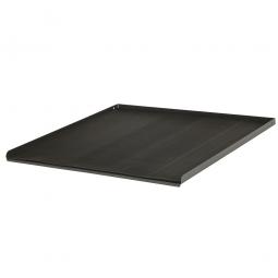 Metall-Abrollrand, 3 seitig, verschraubbar, BxTxH 600x575x20 mm