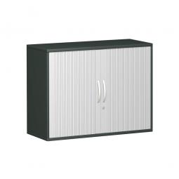 Anstell-Querrollladenschrank PRO 2 Ordnerhöhen, graphit, BxHxT 1000x720x425 mm