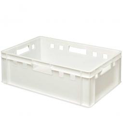 E2-Fleischkasten, LxBxH 600 x 400 x 200 mm, PE-HD, 40 Liter, weiß
