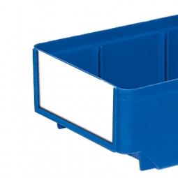 Etiketten für Regalkästen CLASSIC B 152 mm, weiß, VE=100 Stück