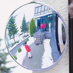 Beobachtungsspiegel, Spezialkunststoff, Ø 600 mm, Für Innen und Außen, max. Beobachterabstand 7 m, Gewicht 5 kg