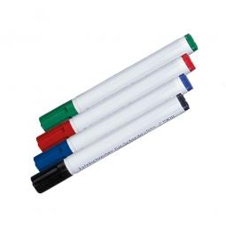 Folienstifte 4-er Set, rot, blau, schwarz, grün