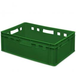 E2-Fleischkasten, LxBxH 600 x 400 x 200 mm, PE-HD, 40 Liter, grün