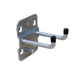 Doppelhaken 35 mm, Ø 6 mm, senkrechtes Ende, Länge 75 mm, VE = 5 Stück