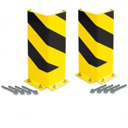 2x Anfahrschutz Spar-Set als Schutz für Regalrahmen, Eckbereiche und Durchfahrten