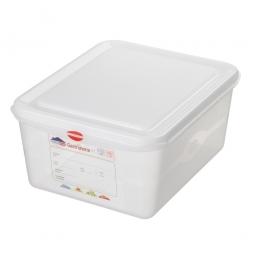 GN-Vorratsdose/Frischhaltebox GN1/2 mit Deckel, LxBxH 325 x 265 x 150 mm, 10 Liter