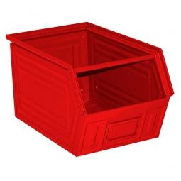 Sichtbox SB2 aus Stahlblech, 41 Liter, LxBxH 520/450 x 300 x 300 mm, rot