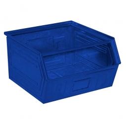 Sichtbox SB1 aus Stahlblech, 60 Liter, LxBxH 520/450 x 450 x 300 mm, blau