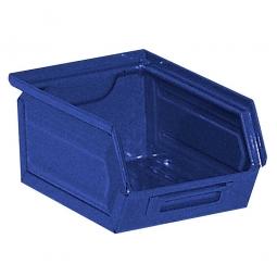 Sichtbox SB 7 aus Stahlblech, 3,5 Liter, LxBxH 230/200 x 140 x 130 mm, blau