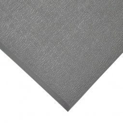 Bodenmatte, mit Strukturoberfläche, grau, LxB 600x900 mm, Stärke 9 mm, Vinyl-Schaum-Belag