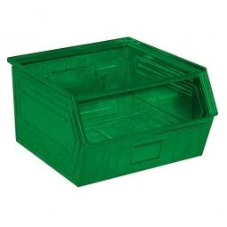 Sichtbox SB1 aus Stahlblech, 60 Liter, LxBxH 520/450 x 450 x 300 mm, grün