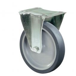 Apparate-Bockrolle, Rad-ØxB 125x28 mm, Tragkraft 70 kg
