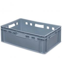 E2-Fleischkasten, LxBxH 600 x 400 x 200 mm, PE-HD, 40 Liter, grau