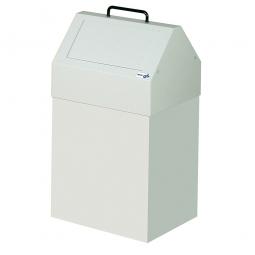 Wertstoffsammler, stationär, Inhalt 45 Liter, BxTxH 330x310x640 mm, grau