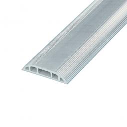 Kabelbrücken, lichtgrau, HxBxL 12x83x3000 mm