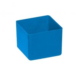 Einsatzkasten für Schubladen, blau, LxBxH 49x49x40 mm, Polystyrol-Kunststoff (PS)