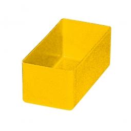 Einsatzkasten für Schubladen, gelb, LxBxH 99x49x40 mm, Polystyrol-Kunststoff (PS)