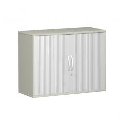 Anstell-Querrollladenschrank PRO 2 Ordnerhöhen, lichtgrau, BxHxT 1000x720x425 mm