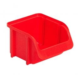 Sichtbox SOFTLINE SL 1, rot, Inhalt 0,6 Liter, LxBxH 115/87x100x75 mm, Gewicht 45 g