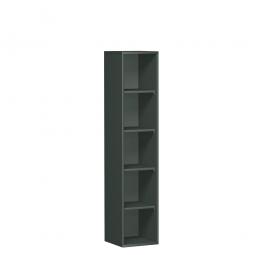 Büroregal PRO, 5 Ordnerhöhen, graphit, BxTxH 800x425x1920 mm
