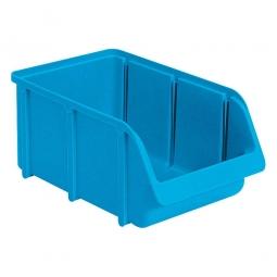 Sichtbox SOFTLINE SL 4, blau, Inhalt 8,8 Liter, LxBxH 335/295x205x155 mm, Gewicht 390 g