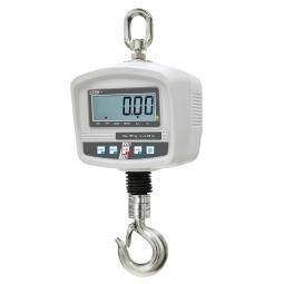 Kranwaage, Haken Öffnung ca. 24 mm, Wägebereich max. 600 kg, Ablesbarkeit 200 g