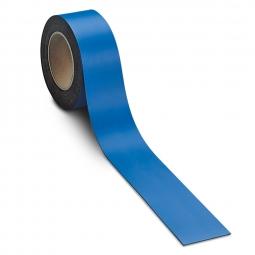 Magnetschilder, 10 m Rolle, Höhe: 30 mm, blau, Materialstärke: 0,9 mm, für alle magnetischen Untergründe
