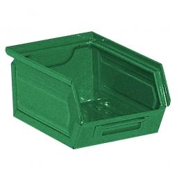Sichtbox SB7 aus Stahlblech, 3,5 Liter, LxBxH 230/200 x 140 x 130 mm, grün